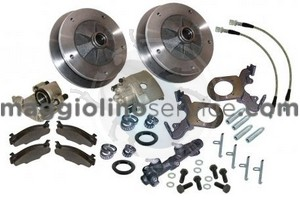 kit freni a disco anteriori 5 x 205  8/67-7/73