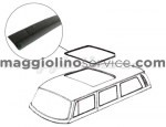 telo canvas tetto westfalia 8/63-7/67