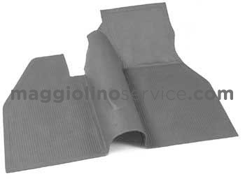 tappetini in gomma ant+post 58-67 grigio
