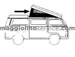 telo canvas tetto westfalia 8/72-7/79